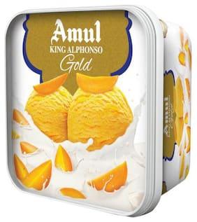 Amul King Alphonso Gold Ice Cream 1 L