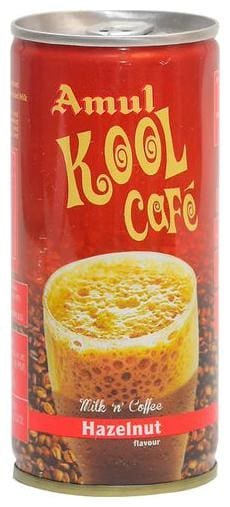 Amul Kool Cafe - Hazelnut 200 ml