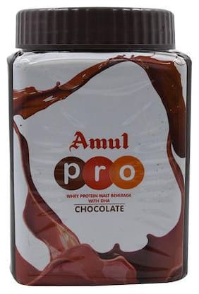 Amul Pro Whey Protein - Malt Beverage Health Drink With Dha - Chocolate 500 g