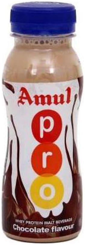 Amul Pro Whey Protein Malt - Chocolate 200 ml