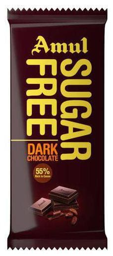 Amul Sugar Free Dark Chocolate 35 g