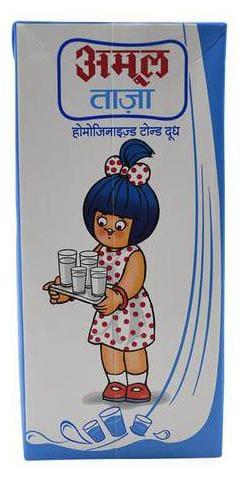 Amul Taaza Toned Milk 1 L
