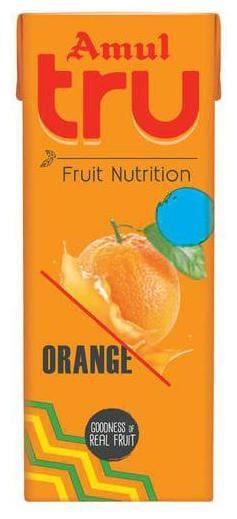Amul Tru Orange 200 ml