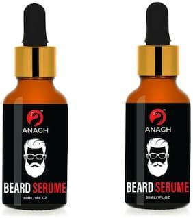 ANAGH Beard Growth Oil For Men For Beard Growth Oil, Hair Oil 30 ml Each (Pack Of 2)