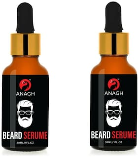 ANAGH Lite Beard Oil With Natural Ingredients Hair Oil Serum For Men 30 ml (Pack of 2)