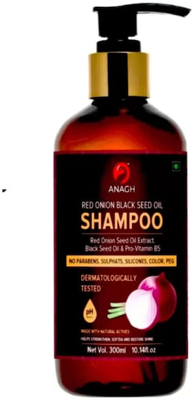Anagh Red Onion Shampoo For Hair 300ml (Pack Of 1)