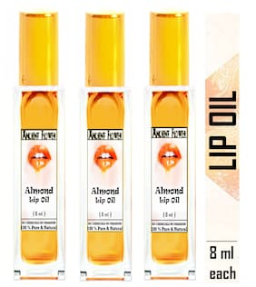 Ancient Flower - Almond lip Oil (8 ml) Pack of 3
