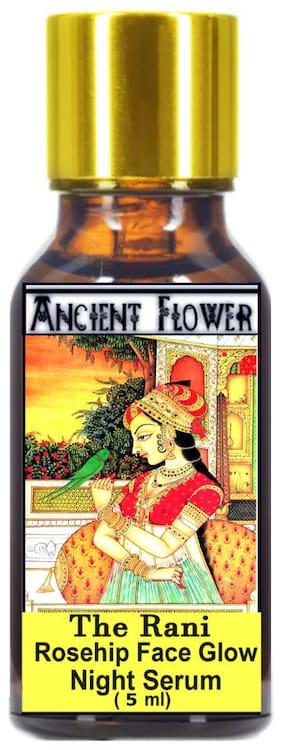 Ancient Flower - The Rani - Rosehip Face Glow Night Serum (5 ml)