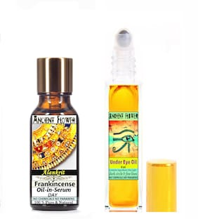 Ancient Flower  Alankrit  Frankincense Oil In Serum (Day) (5 ml) & Under Eye Oil (8 ml) Pack Of 2