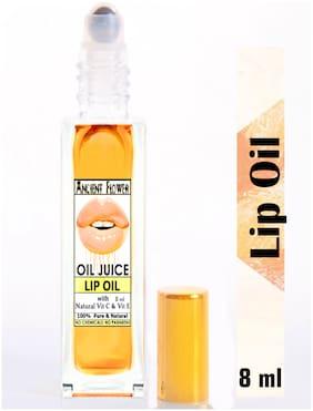 Ancient Flower  Oil Juice Lip Oil With natural Vitamin C & Vitamin E  Lip Oil  (8ml)