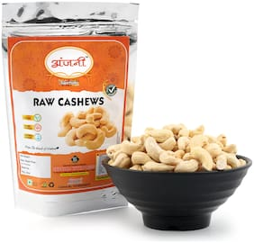 Anjani Plain Raw Cashews Cashews 1 Kg (Pack Of 1)