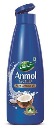 Anmol Gold Coconut Oil 175ml Narrow Mouth - Blue Pack