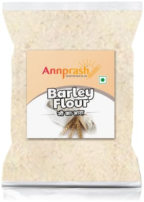 Annprash Premium Quality Barley Flour/ Jau Aata 500 g (Pack of 1)