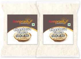 Annprash Premium Quality Chestnut Flour/ Singhara Atta -500g (Pack Of 2)
