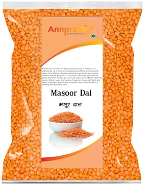 ANNPRASH Premium Quality Masoor Dal 5 kg (Pack Of 1)