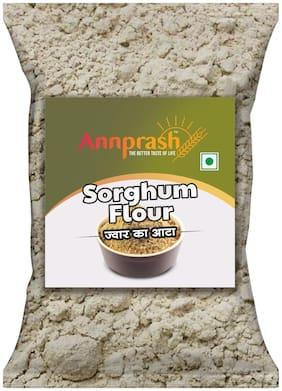 Annprash Premium Quality Sorghum Flour / Jowar Atta 500 g (Pack of 1)