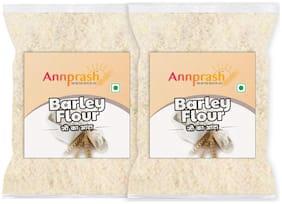 Annprash Premium Quality Barley Flour/ Jau Atta -500g (Pack Of 2)