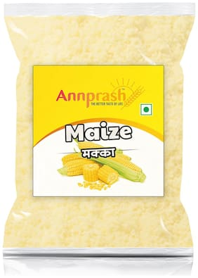 Annprash Premium Quality Maize Flour/ Makka Atta -500g (Pack Of 1)