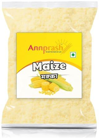 Annprash Premium Quality Maize Flour/ Makka Atta -500g (Pack Of 1)