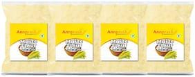 Annprash Premium Quality Maize Flour/ Makka Aata 1 kg (Pack of 4)