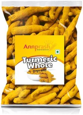 ANNPRASH PREMIUM QUALITY TURMERIC WHOLE/ SABUT HALDI 100g (Pack of 1 )