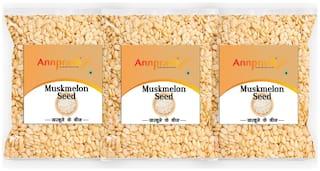 ANNPRASH Premium Quality Muskmelon seed 250g (Pack of 3)