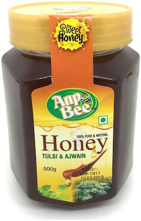 ANP BEE Export Quality TULSI AJWAIN Honey 500g
