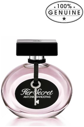 Antonio Banderas secret Women EDT 80 ml