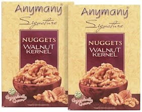 Anymany Nuggets Walnut Kernels 250g (Pack of 2)