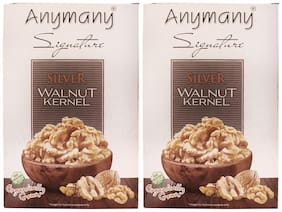 Anymany Silver Walnut Kernels 250g (Pack of 2)