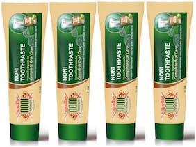 Apollo Noni With Alovera Complete Oral Care Toothpaste 75g (Pack Of 4)