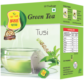 Apsara Chay Tulsi Green Tea Bag 10 Pc