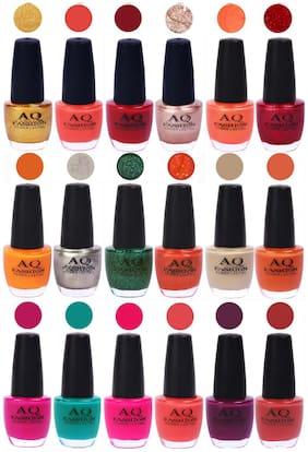 AQ Fashion Hot Shade Gel Nail Polish Combo 994 Pack Of 18
