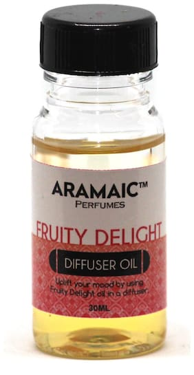 Aramaic Diffuser Oil Fruity Delight  Aroma Oil Refill-Pack of 1