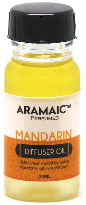 Aramaic Diffuser Oil Mandarin  Aroma Oil Refill-Pack of 1