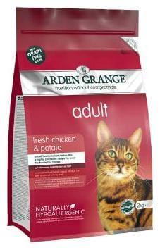 Arden Grange Adult Cat Food (Chicken & Potato) 2 Kg