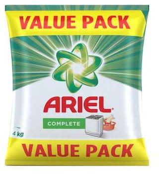 Ariel Complete Detergent Washing Powder- Value Pack 4 Kg