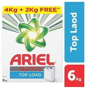 Ariel  Detergent Washing Powder - Matic Top Load 6 kg