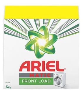 Ariel  Detergent Washing Powder - Matic  Front Load  With Rs.150 Off 3 kg