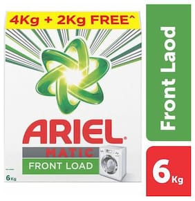 Ariel  Detergent Washing Powder - Matic Front Load 6 kg