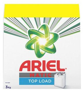 Ariel  Detergent Washing Powder - Matic  Top Load  With Rs.150 Off 3 kg