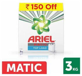Ariel Matic Top Load Detergent Washing Powder 3 Kg With Rs 150 Off