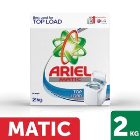 Ariel Matic Top Load Washing Detergent Powder 2Kg