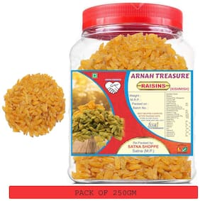 Arnah Treasure Premium Quality Raisin (Kishmish) (250Gm)