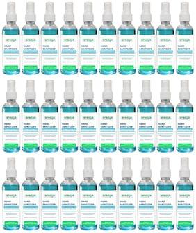 Arogya Herbal Alcohol Based Hand Sanitizer Spray (Aloe Vera, Tulsi and Neem Leaf Extract & 70% Alcohol) 100 ml each (Pack of 30)