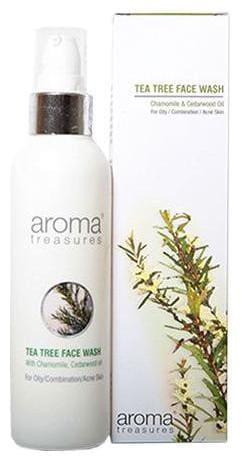 Aroma Treasures Tea Tree Face Wash - For Oily/Combination/Acne Prone Skin 100 ml