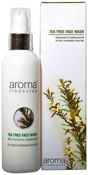 Aroma Treasures Tea Tree Face Wash 100 ml