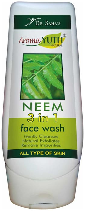 AromaYuth 3 in 1 Neem Face Wash (100 ml)
