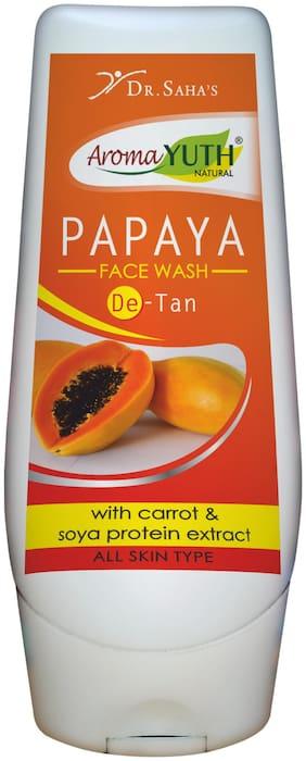 AromaYuth Papaya Face Wash (100 ml)