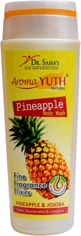 AromaYuth Pineapple Body Wash (200 ml)